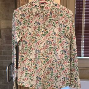 J Crew Cotton XS Blouse
